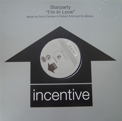 Starparty - Im In Love 12 inch vinyl