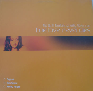 Flip n Fill feat Kelly Llorenna - True Love Never Dies 12 inch vinyl