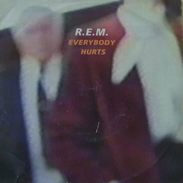 R.E.M - Everybody Hurts 7 inch vinyl