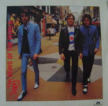 The Jam - News of the World 7 inch vinyl
