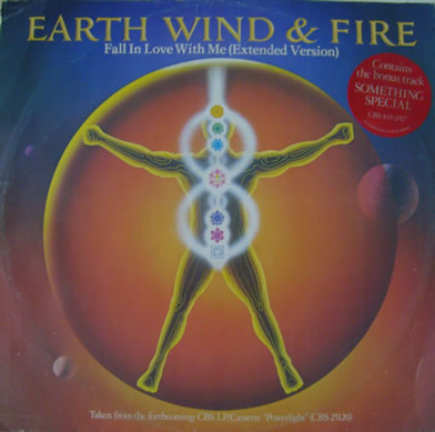 Earth Wind & Fire - Fall In Love With Me 12 inch vinyl