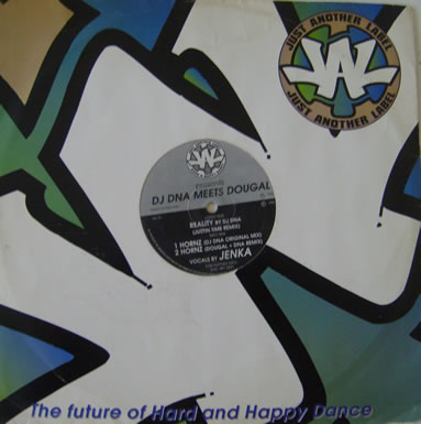DJ DNA Meets Dougal - Reality 12 Inch Vinyl