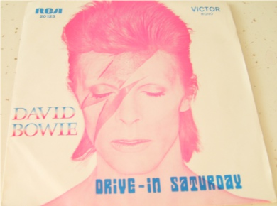 David Bowie - Drive-In Saturday - Portuguese Import 7 Inch Vinyl