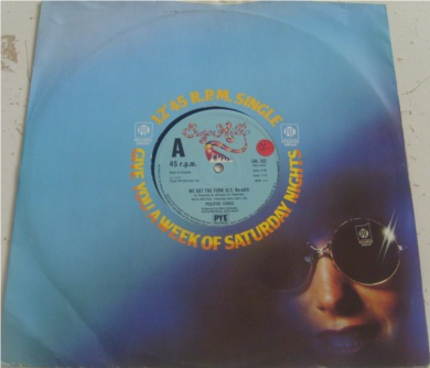 Positive Force - We Got The Funk 12 inch vinyl