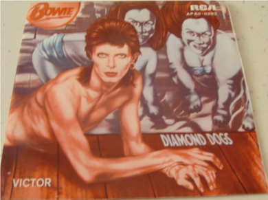 David Bowie - Diamond Dogs / Holy Holy Portugal import 7 Inch Vinyl