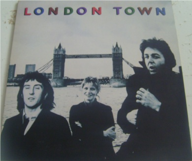 Wings - London Town 12 inch vinyl