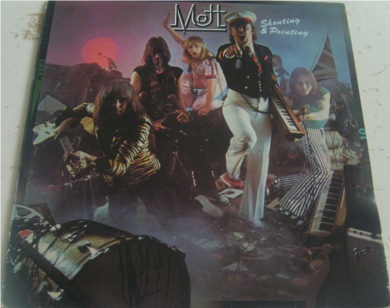 Mott The Hoople - Shouting And Pointing 12 inch vinyl