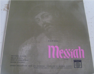 Handel - Messiah 12 Inch Vinyl
