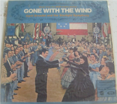 Gone With The Wind 12 Inch Vinyl