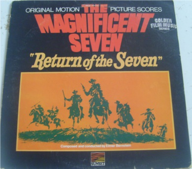 The Magnificent 7 Return Of The Seven 12 Inch Vinyl