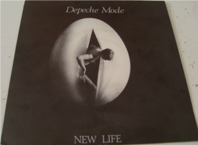Depeche Mode - New Life 7 inch vinyl
