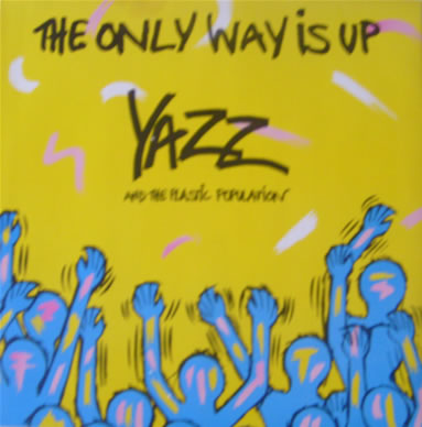 Yazz And The Plastic Population - The Only Way Is Up 12 Inch Vinyl