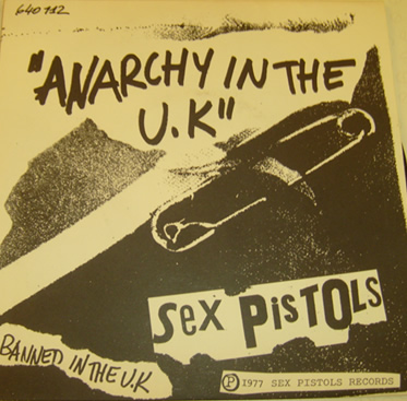 Sex Pistols - Anarchy in the U.K / I Wanna be me 1977 (banned in the uk) 7 Inch Vinyl