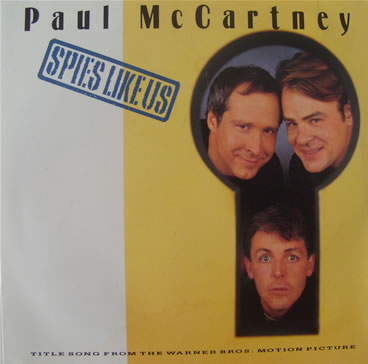 Paul McCartney - Spies Like Us 7 inch vinyl