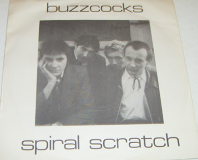 The Buzzcocks - Spiral Scrarch E.P 1977 7 Inch Vinyl