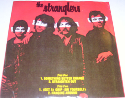 The Stranglers - Something Better Change / Straighten Out 7 Inch Vinyl