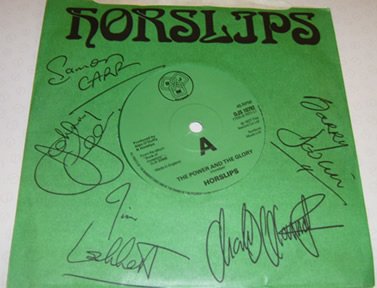 The Horslips - Power Glory 7 Inch Signed Vinyl
