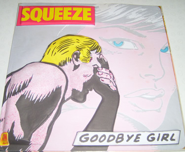 Squeeze - Goodbye Girl / Saints Alive - 3D cover 7 inch vinyl