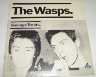 The Wasps - Teenage Treats / She Made More Magic (mint) 7 Inch Vinyl