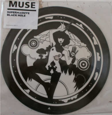 Muse - Supermassive Black Hole 7 Inch Vinyl