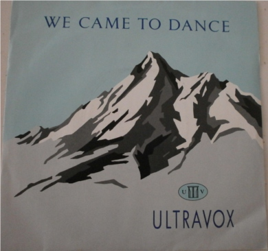 Ultravox - We Came To Dance 7 inch vinyl