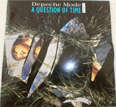 Depeche Mode - A Question Of Time 7 inch vinyl