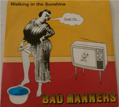 Bad Manners - Walking On Sunshine 7 inch vinyl