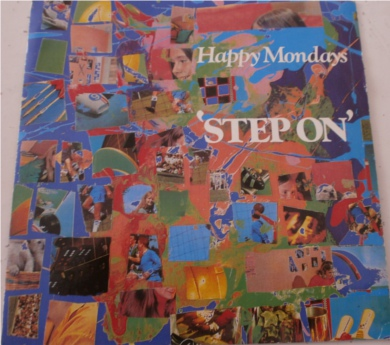 Happy Mondays - Step On A, Stuff It In Mix B, One Louder Mix 7 inch vinyl