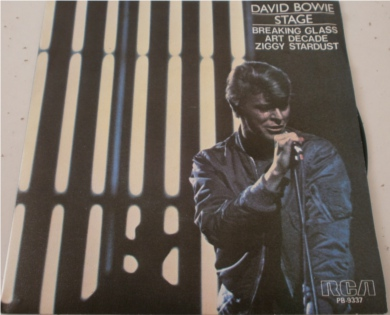 David Bowie - Breaking Glass - Spanish copy 7 Inch Vinyl