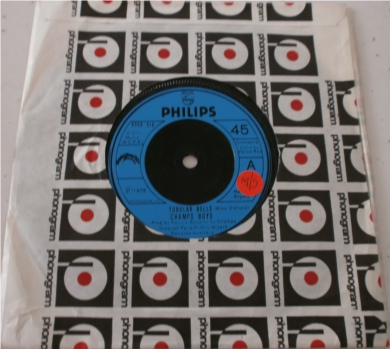 Tubular Bells - Champs Boys 7 Inch Vinyl