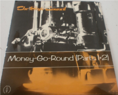The Style Council - Money-Go-Round (Parts 1 & 2) 7 Inch Vinyl