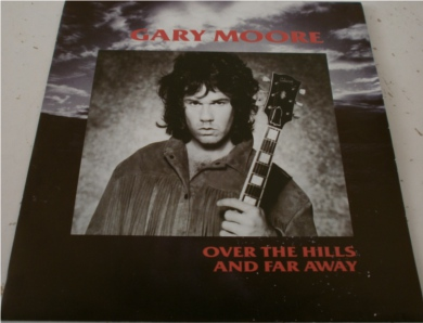 Gary Moore - Over The Hills And Far Away 7 Inch Vinyl