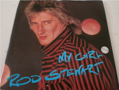 Rod Stewert - My Girl 7 Inch Vinyl