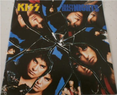 Kiss - Crazy Crazy Nights 7 Inch Vinyl