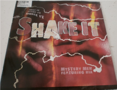 Mystery Men feat Nia - Shake It 12 inch vinyl