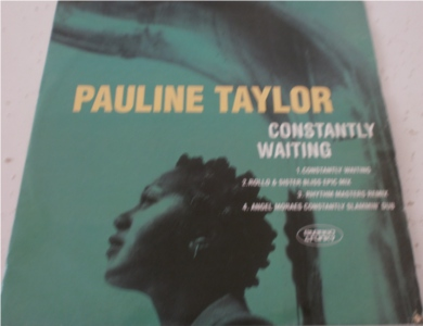 Pauline Taylor - Constantly Waiting 12 inch vinyl