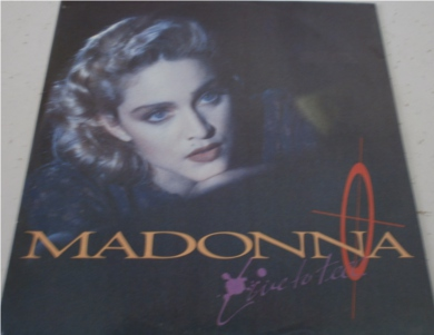 Madonna - Live To Tell 12 inch vinyl