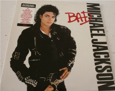 Micheal Jackson - Bad 12 inch vinyl