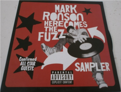 Mark Ronson - Here Comes The Fuzz 12 inch vinyl