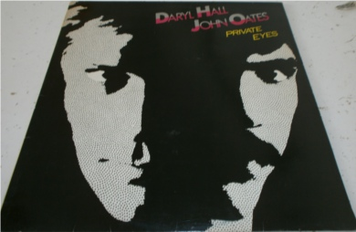 Daryl Hall John Oates - Private Eyes 12 inch vinyl
