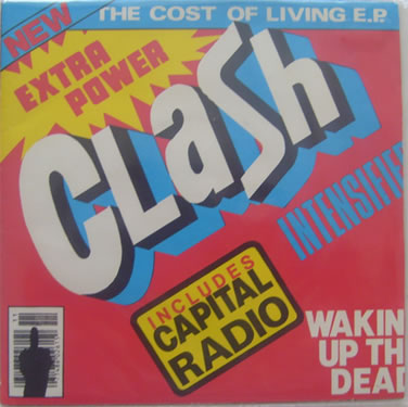 The Clash - The Cost of Living E.P 7 Inch Vinyl