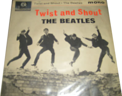 The Beatles - Twist And Shout 7 inch vinyl
