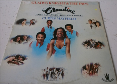 Claudine (price label removed with sleeve damage top left corner) 12 Inch Vinyl