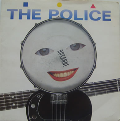 The Police - Roxanne 7 inch vinyl