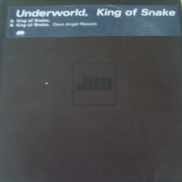 Underworld - King of Snake 12 inch vinyl