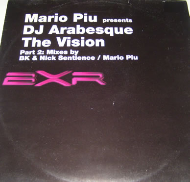 Mario Piu Presents DJ Arabesque - The Vision 12 Inch Vinyl