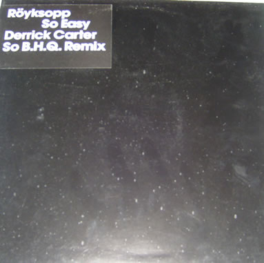 Royksopp - So Easy 12 Inch Vinyl
