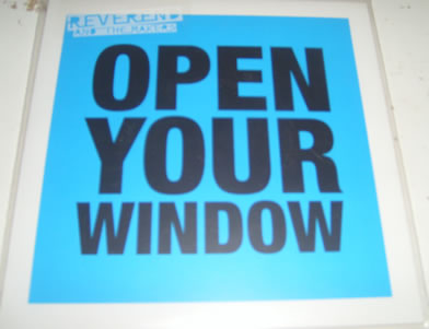 Reverend And The Makers - Open Your Window 7 inch vinyl