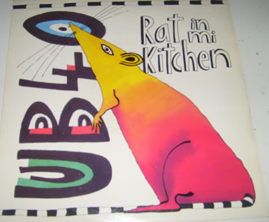 UB40 - A.Rat In Mi Kitchen B2.Dub mix 12 Inch Vinyl