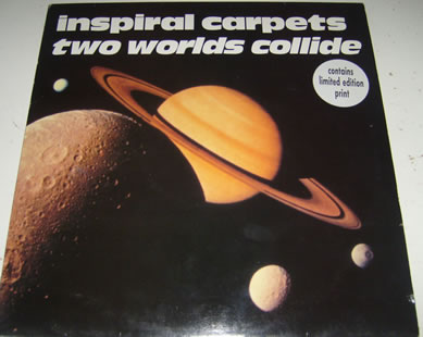 Inspiral Carpets - Two Worlds Collide 12 Inch Vinyl